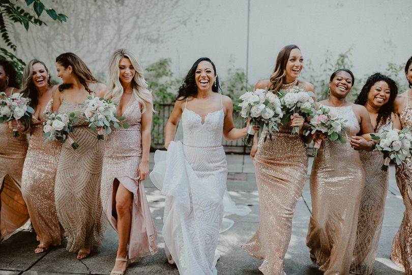 Seattle Glam Bridal Party