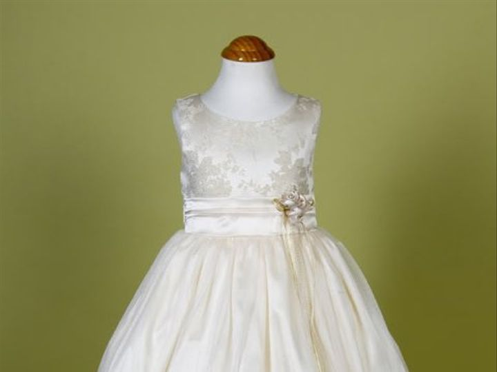 Tmx 1284624532935 Mettalicjacquard1 Rowland Heights wedding dress