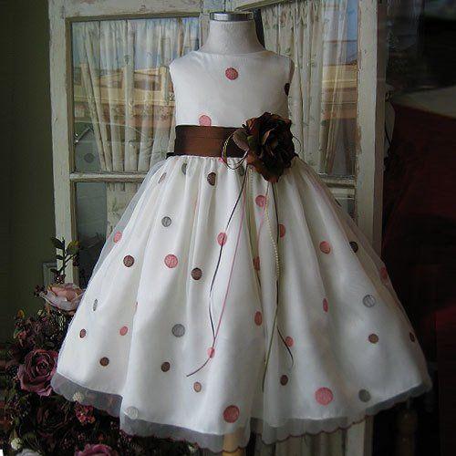 Tmx 1284624536388 Organzapolkadot Rowland Heights wedding dress