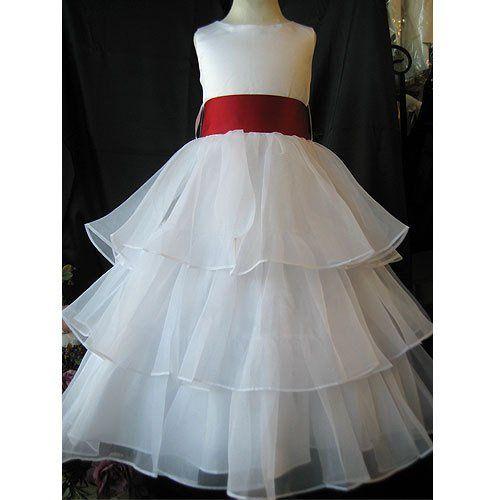 Tmx 1288664464465 8033whiteredsash Rowland Heights wedding dress