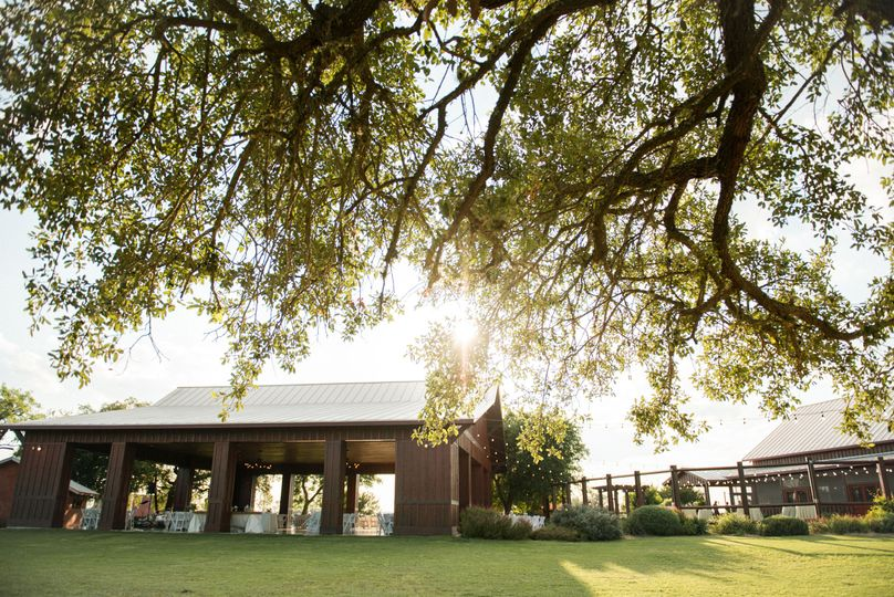 The Grande Hall at the Hofmann Ranch