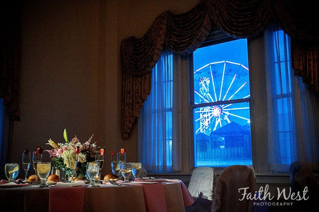 candlelight sweetheart table ferris