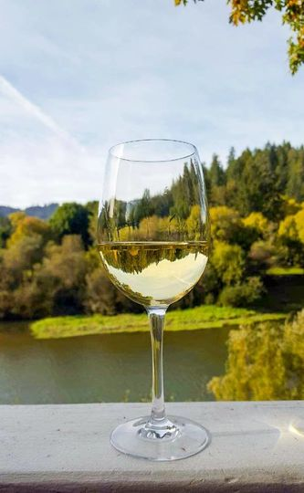 Your guests can enjoy Sonoma County wine's on our patio while enjoying our breath taking views!
