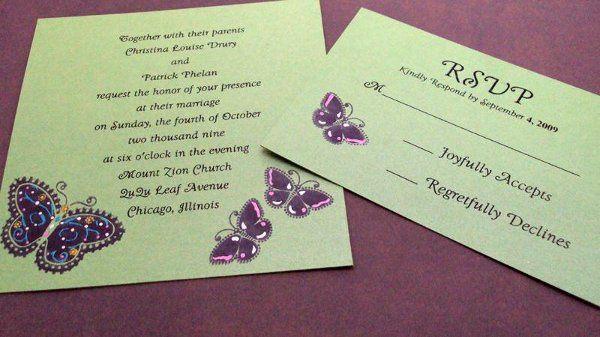 Tmx 1246588336819 Butterfly5 Newburgh wedding invitation