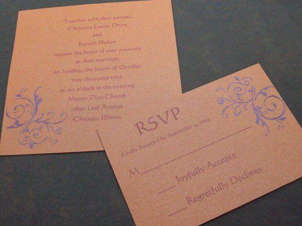 Tmx 1246588472303 Flourish4 Newburgh wedding invitation