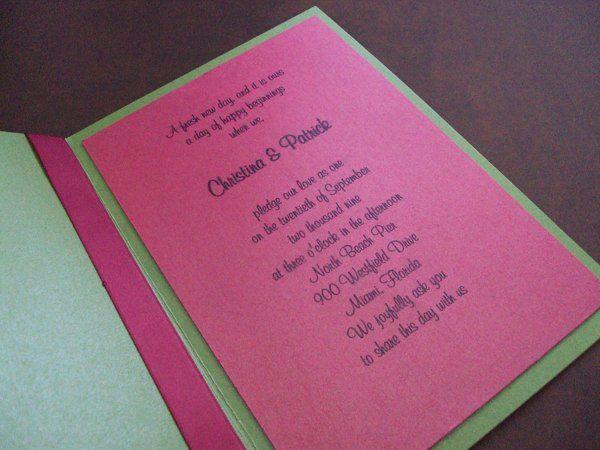 Tmx 1256842773915 Initiallyyours2 Newburgh wedding invitation