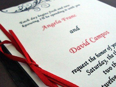 Tmx 1256842834274 Ribbonflourish1 Newburgh wedding invitation