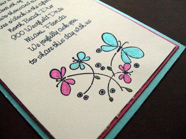 Tmx 1256843126243 WhimsicalButterflies3 Newburgh wedding invitation