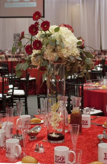 Reception Centerpiece Paragon Flowers