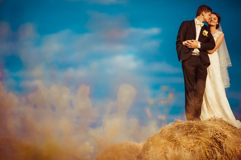 We can even supply the hay bales for that perfect photo op!