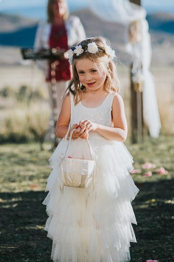 Flower girls are special