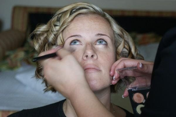 Hair and Makeup In progress done by Studio Image,LLC