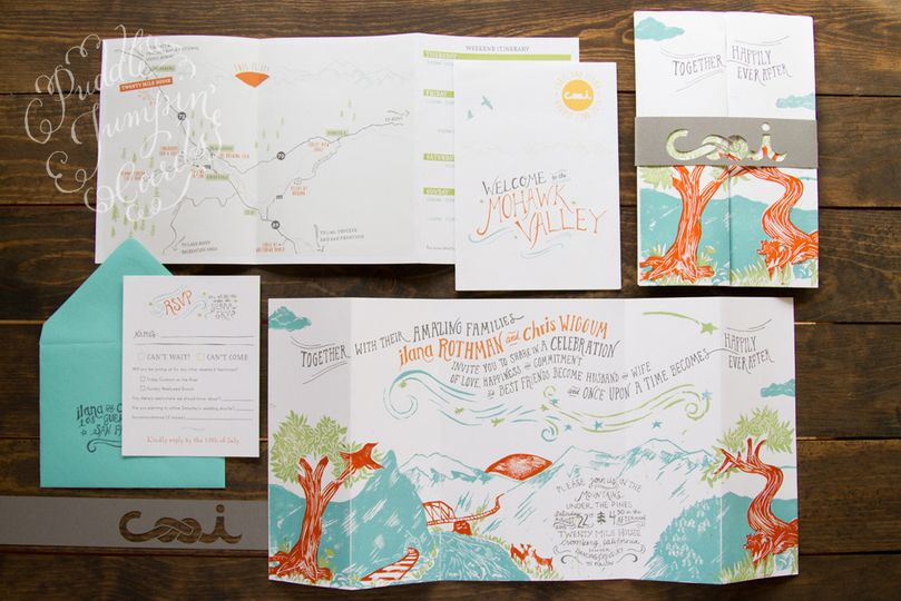 blockprintedweddinginvitationsuite