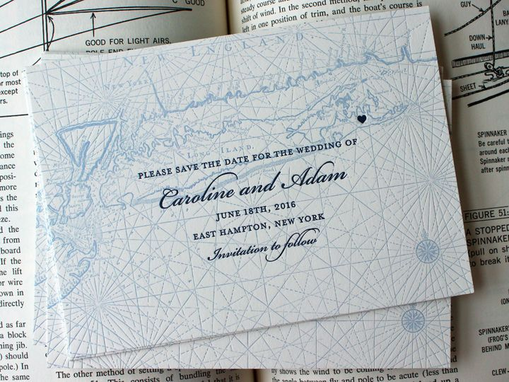Tmx 1472589315477 Longislandsavedate Brooklyn wedding invitation