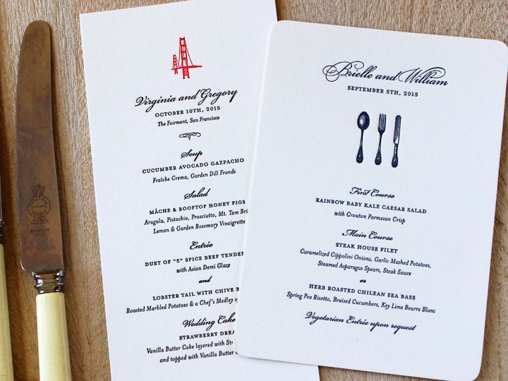 Tmx 1472589375021 Weddingmenus Brooklyn wedding invitation