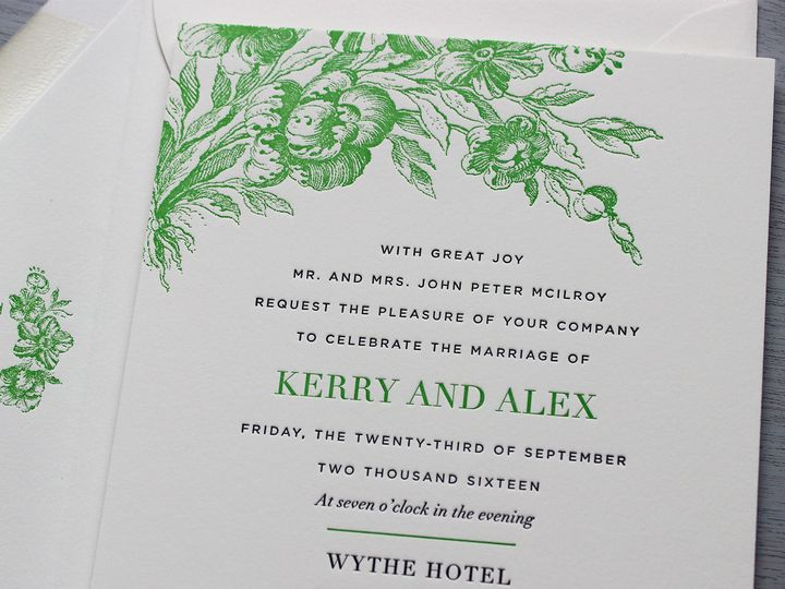 Tmx 1515700549 081fed7b34f024f1 1515700548 3c8b08e5b90df3f6 1515700547375 9 Wythe Invitation D Brooklyn wedding invitation