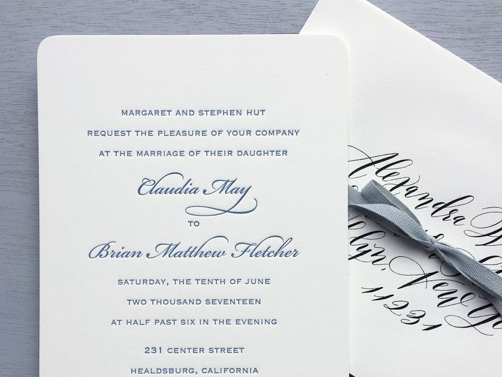 Tmx 1515700635 97b096098037d274 1515700631 Efb82281e70e4cf9 1515700627939 10 Classic Invitatio Brooklyn wedding invitation
