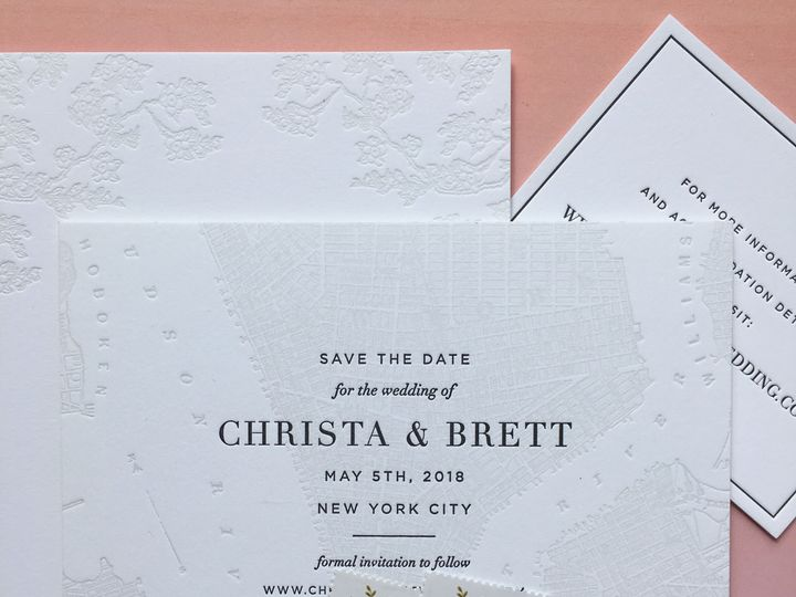 Tmx 1534451677 C7dcaa02ddd147e5 1534451675 F97a2bac6b3c8c05 1534451674747 3 Hudson Christa Bre Brooklyn wedding invitation
