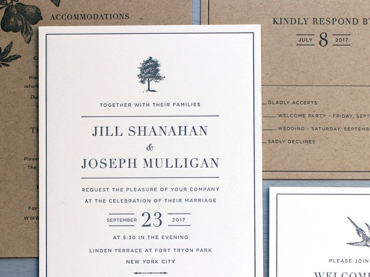 Tmx 1534452299 D6772806c286ffd9 1534452297 924f6baaef7901ef 1534452296097 13 Hudson Jill Invit Brooklyn wedding invitation