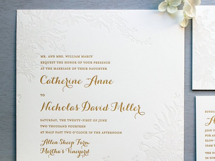 Tmx 1534452485 62b3073449f56f29 1534452483 315f64b49436e822 1534452482423 16 Pale Floral Lette Brooklyn wedding invitation