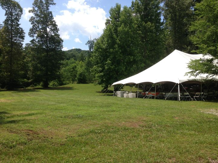 Tents may be brought in to certain areas of the property for ceremonies and/or receptions.