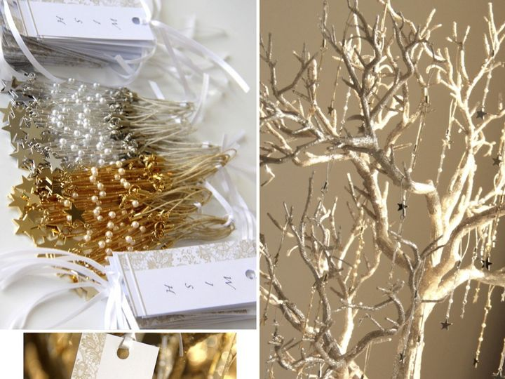 Tmx 1371980021558 Wishing Tree Metal Star Collage Rumson, NJ wedding favor