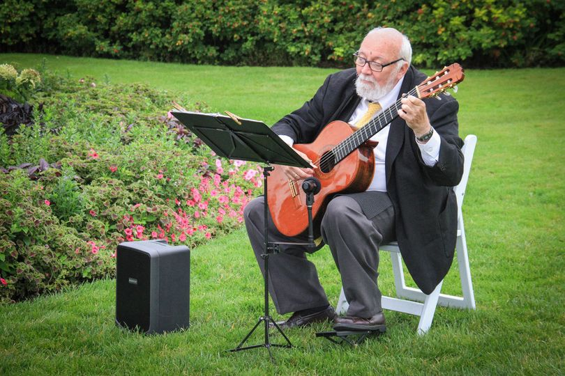 Playing the Canon in D by J. Pachelbel for the brides processional.