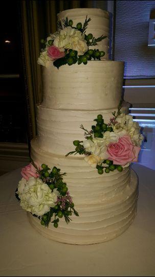 Big wedding cake