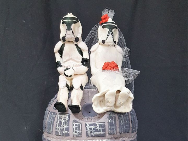Tmx 1500593111640 Star Wars Wedding Montclair, New Jersey wedding cake