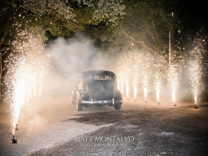 Tmx 1508945110429 Matt Montalvo Photography 44 Car Leaving With Fire Austin, TX wedding venue