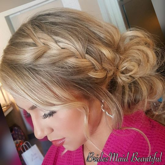 BridesMaid Beautiful Braids