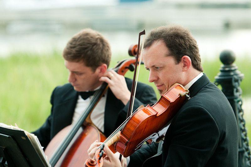 String quartet with Jarrod Haning in Charleston SC.