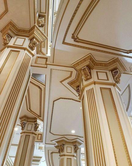 Castle pillars