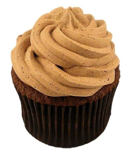 French Chocolate cupcake with Chocolate Meringue Buttercream frosting