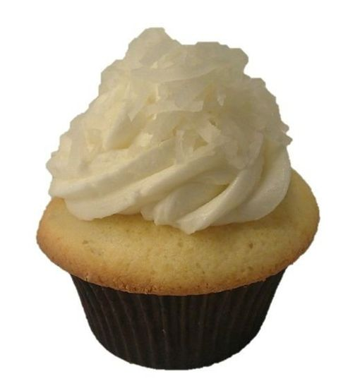 Coconut cupcake with Coconut Buttercream frosting
