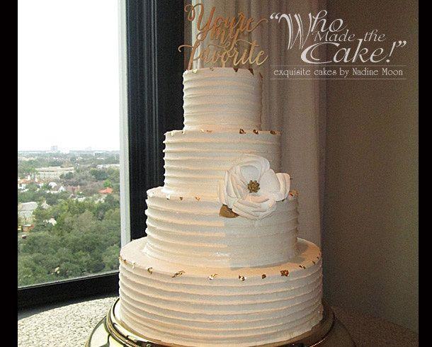 Who Made the Cake Wedding Cake Houston TX WeddingWire