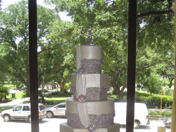 Tmx 1331321528125 IMG3248 Houston wedding cake