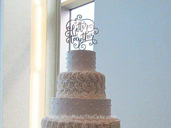 Tmx 1475013433786 1406780910153780365933016185613844138054175o Houston wedding cake