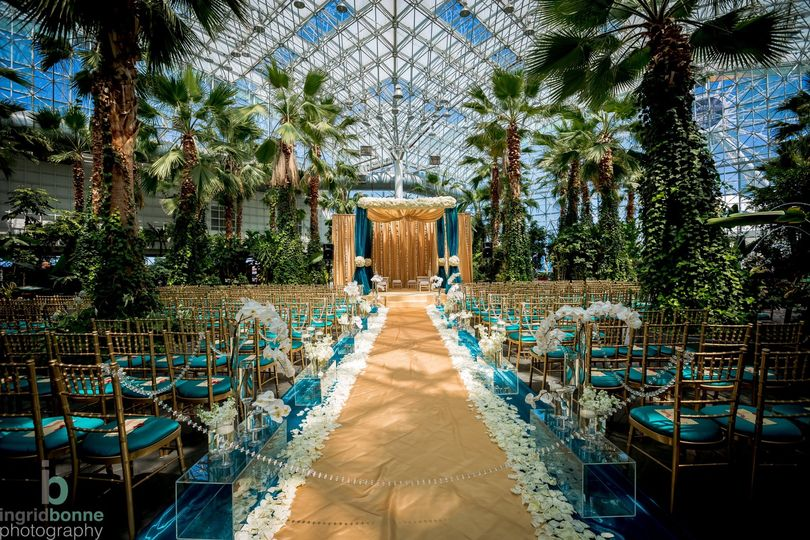 Wedding at Crystal Gardens