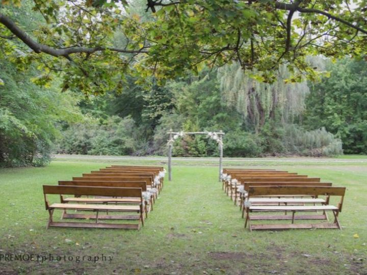 Tmx 1455313515981 Benches At Weddin East Jordan, Michigan wedding rental