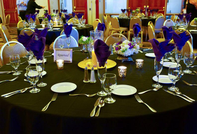 Lavender table napkin