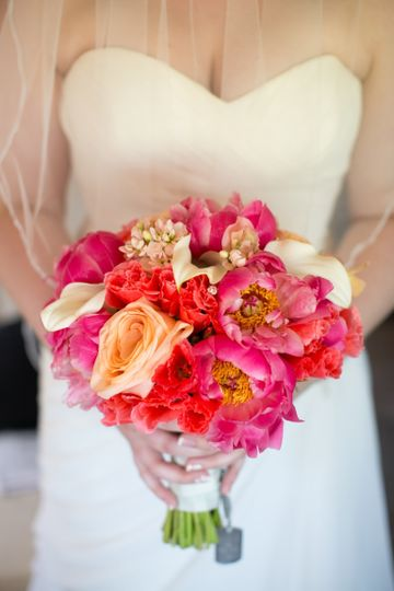 diamondcustomfloralcoralpeonybouquet