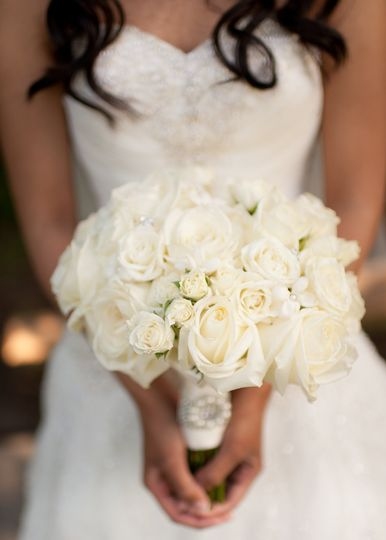 diamondcustomfloralwhitepeony bouquet