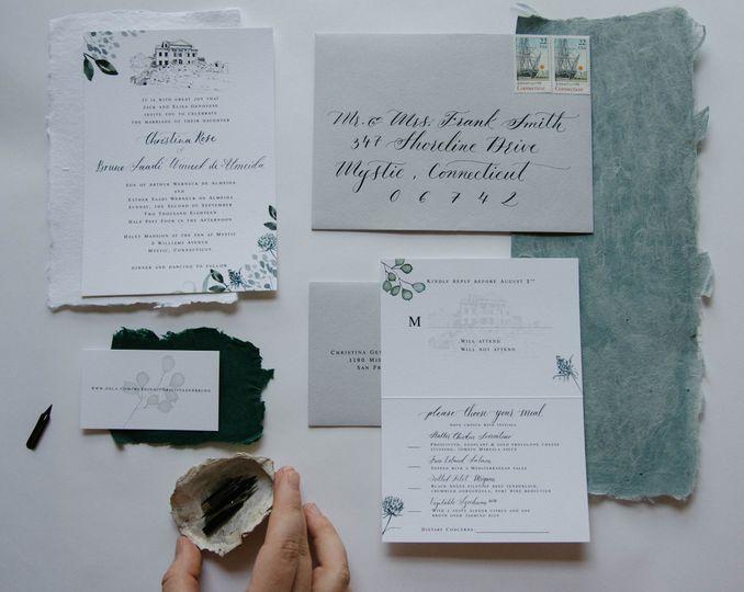 Custom wedding suite