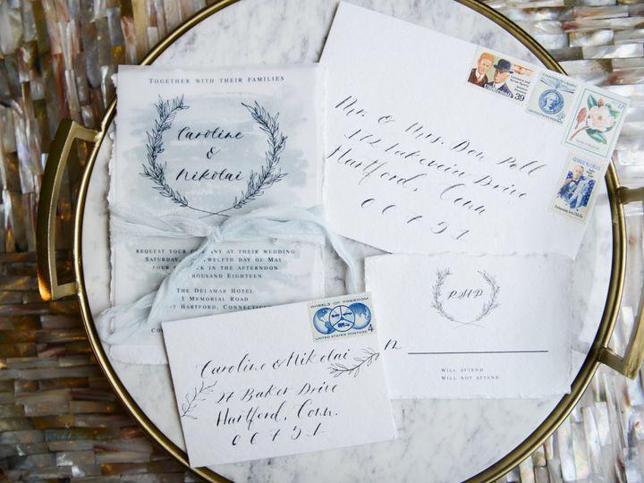 Tmx Artisan Delamar West Harford Connecticut Wedding Dani Fine Photography Favorites 111 51 947948 Milford, CT wedding invitation