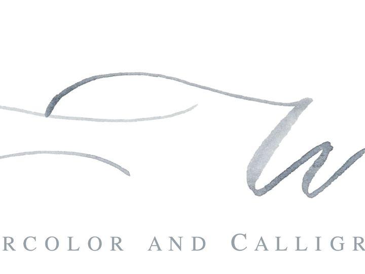 Tmx Cat Wilcox With Flower Calligraphy Logo 2 51 947948 Milford, CT wedding invitation