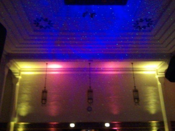 Uplighting at Zembo Shrine