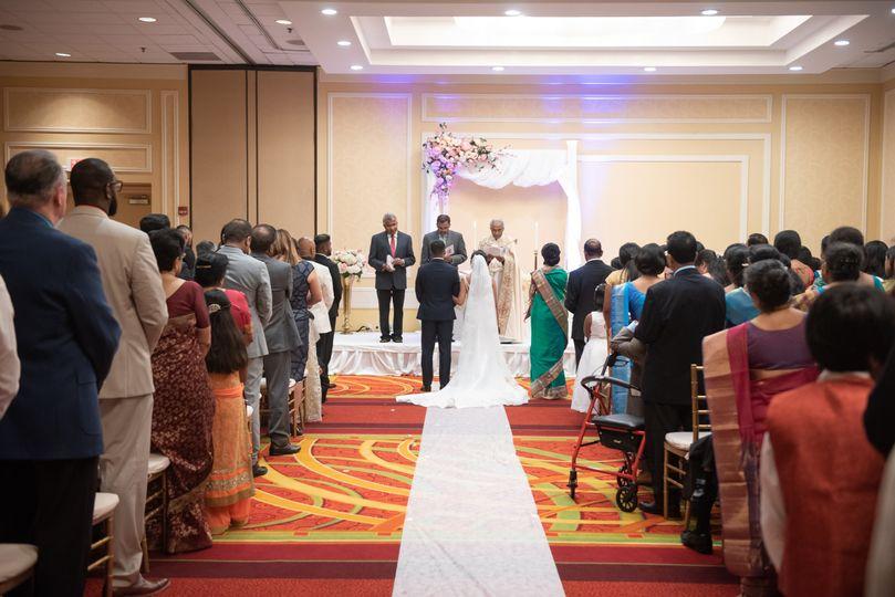 Decorated ceremony
