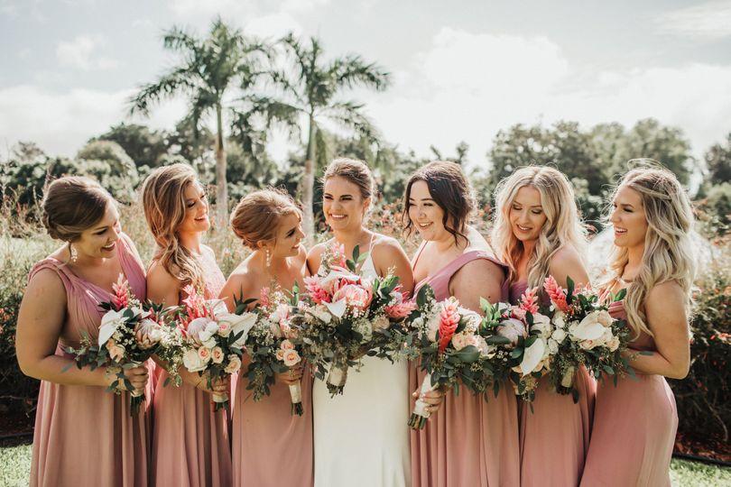 Bridal party Amy Jayne