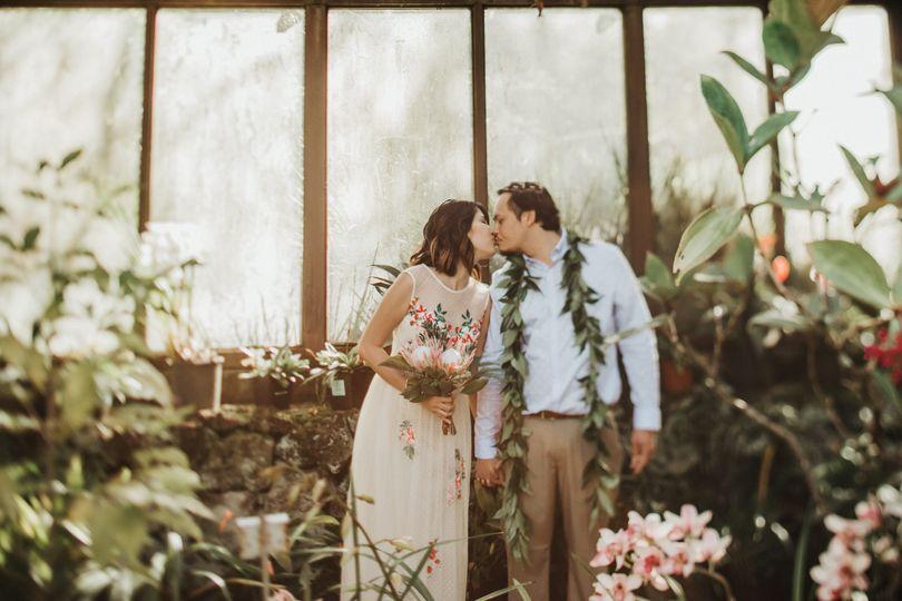 Kula Wedding Botanical Garden